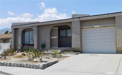 Palm Springs CA Single Family Home For Sale: $239,900