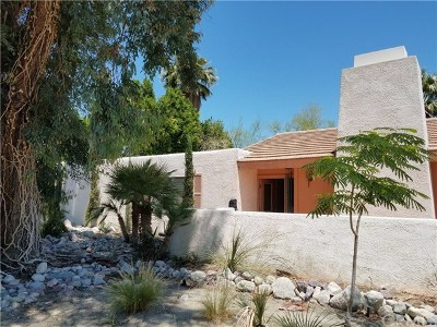 Palm Springs Single Family Home Contingent: 988 East El Conquistador