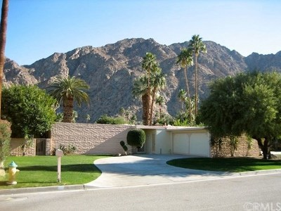 Indian Wells Single Family Home Contingent: 46250 Manitou Drive