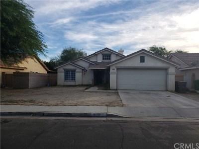 Indio Single Family Home For Sale: 81281 Iris Court