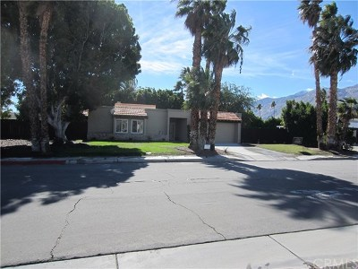 Palm Springs CA Single Family Home For Sale: $529,000