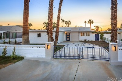Palm Springs CA Single Family Home For Sale: $645,000