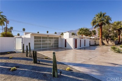 Palm Springs Single Family Home For Sale: 2225 E Andreas Road