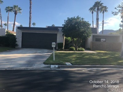 Rancho Mirage Single Family Home For Sale: 9 Kevin Lee Lane