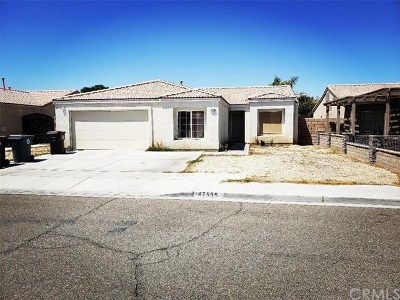 Indio Single Family Home For Sale: 47595 Sugar Loaf Street