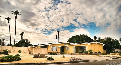 Indio Single Family Home Contingent: 45257 Palm Street