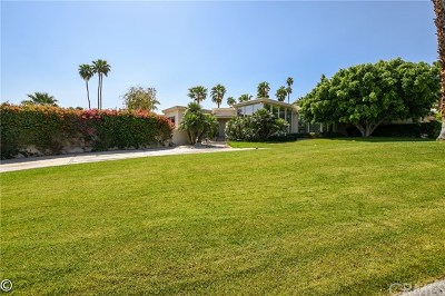 Rancho Mirage Single Family Home For Sale: 70397 Boothill Road