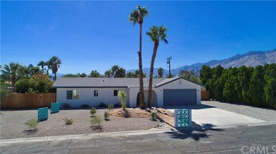 Palm Springs Single Family Home For Sale: 2225 East Hildy Lane