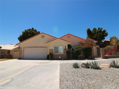 Cathedral City Single Family Home Contingent: 67745 Ontina Road