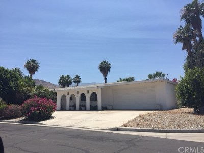 Rancho Mirage Single Family Home Contingent: 70181 Cobb Road
