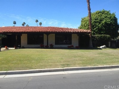 Indian Wells Single Family Home For Sale: 45655 Apache Rd.
