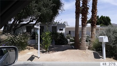 Palm Desert Single Family Home For Sale: 48280 Birdie Way
