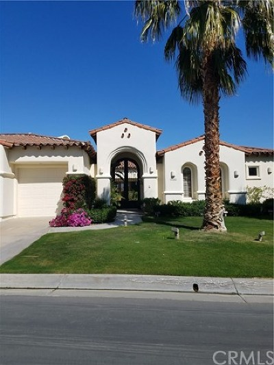 La Quinta Single Family Home Contingent: 80940 Weiskopf