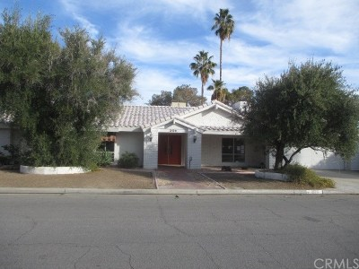 Palm Springs Single Family Home For Sale: 2170 S Pebble Beach Drive