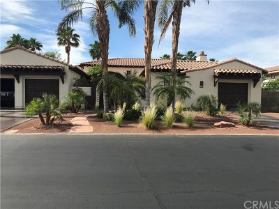 Rancho Mirage Single Family Home For Sale: 10 Oakmont Drive