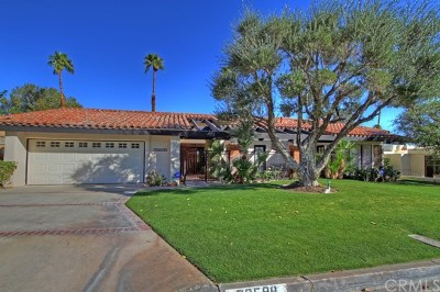 Palm Desert Single Family Home For Sale: 73590 Grapevine