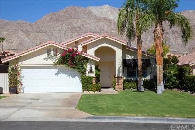 La Quinta Single Family Home For Sale: 53105 Avenida Rubio