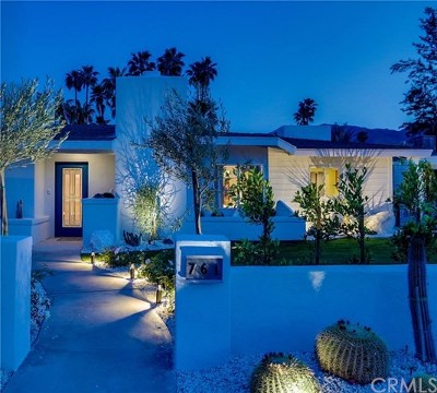 Palm Springs Single Family Home Contingent: 761 East Mesquite Avenue