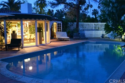 Palm Springs Single Family Home Contingent: 276 East Granvia Valmonte