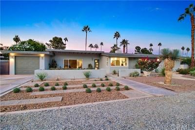 Palm Springs Single Family Home For Sale: 870 East San Lorenzo Road