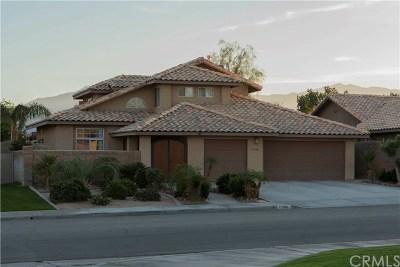 La Quinta Single Family Home Contingent: 78765 Villeta Drive