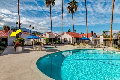 Palm Springs Condo/Townhouse For Sale: 2344 South Linden Way #C