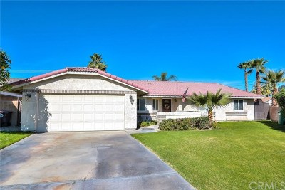 Palm Desert Single Family Home Contingent: 42521 York Street