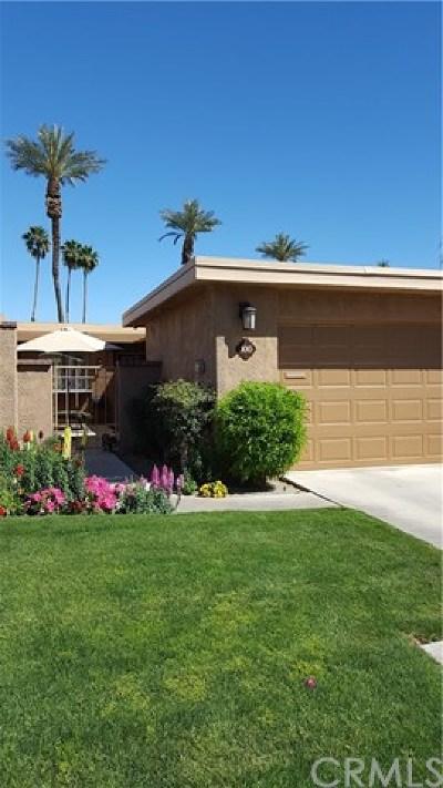 Rancho Mirage Condo/Townhouse For Sale: 100 La Cerra Drive