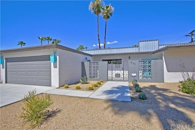 Palm Springs Single Family Home For Sale: 477 North Juanita Drive