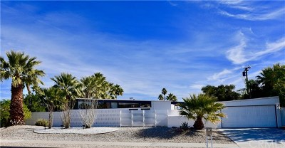 Palm Springs CA Single Family Home For Sale: $685,000