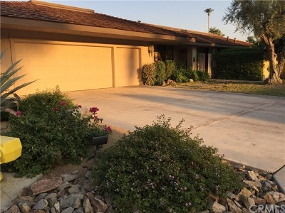 Rancho Mirage Single Family Home For Sale: 1 Furman Court