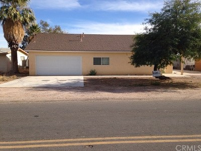 Blythe Single Family Home For Sale: 1362 Riviera Drive