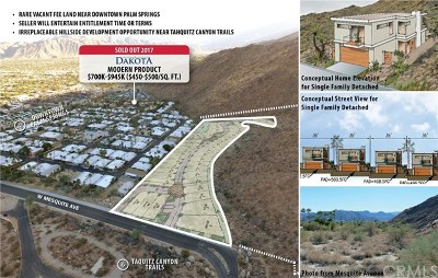Palm Springs Residential Lots & Land For Sale: Mesquite Avenue