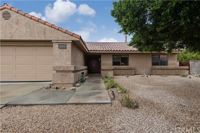 Palm Springs Single Family Home For Sale: 1444 East Gem Circle