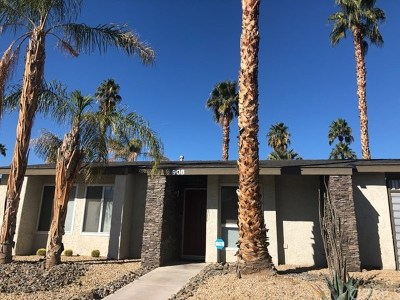 Palm Springs Single Family Home For Sale: 908 Arroyo Vista Drive