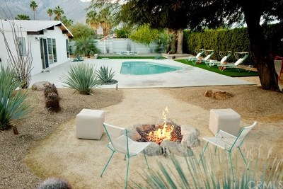 Palm Springs Single Family Home For Sale: 482 E Lindsey Drive