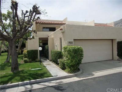 Palm Springs Condo/Townhouse For Sale: 753 Violeta Drive