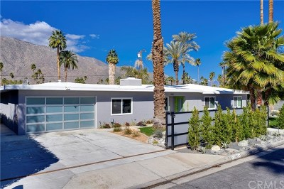 Palm Springs Single Family Home Contingent: 1045 S Calle Marcus