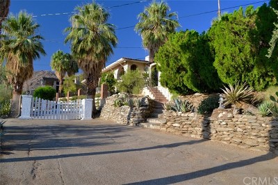 Palm Springs Single Family Home For Sale: 1716 Ridge Road