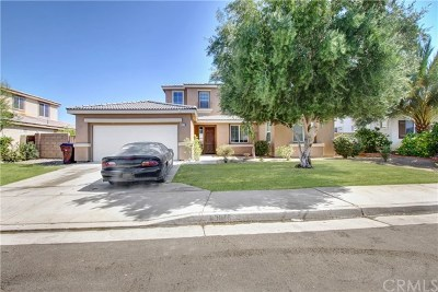 Indio Single Family Home Contingent: 83875 Ozark Drive