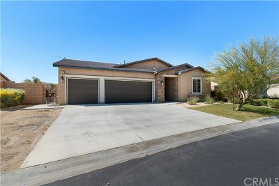 Indio Single Family Home Contingent: 42333 Everest Drive