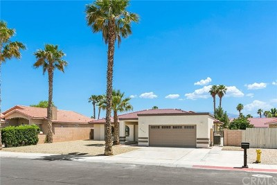 Cathedral City Single Family Home Contingent: 67265 Rango Road