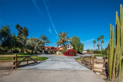 Bermuda Dunes Single Family Home For Sale: 41385 Yucca Lane