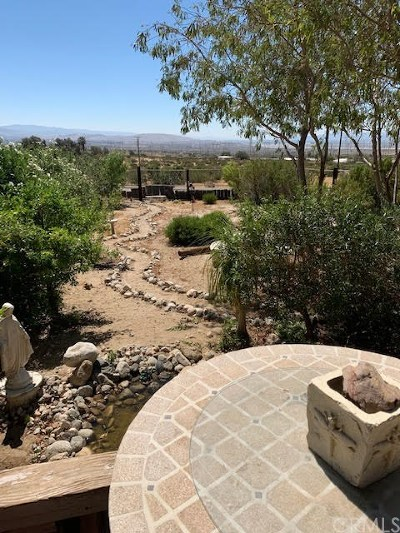 Palm Springs Single Family Home For Sale: 15471 Painted Hills Road