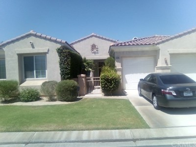 Indio Single Family Home For Sale: 80406 Paseo De Nivel