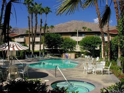 Palm Springs CA Condo/Townhouse For Sale: $159,999