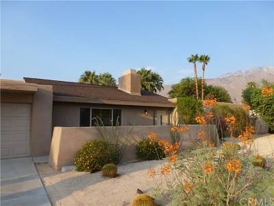 Palm Springs Single Family Home For Sale: 915 East El Escudero