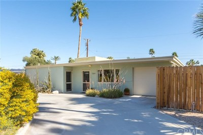 Palm Springs Single Family Home For Sale: 1164 North Calle Rolph