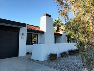 Palm Springs Single Family Home Contingent: 1133 East Via Escuela