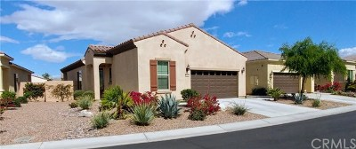 Sun City Shadow Hills Single Family Home For Sale: 81367 Corte Compras